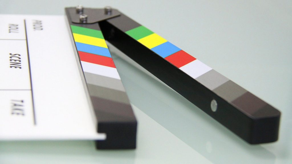 Imagen del proceso de producción de un vídeo